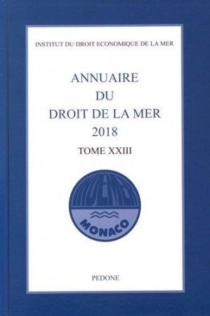 Annuaire du droit de la mer - pedone - 9782233009326 -