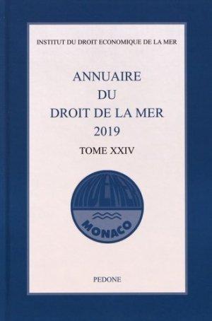 Annuaire du droit de la mer - pedone - 9782233009647 -