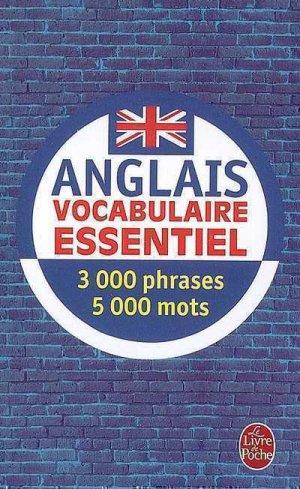 Vocabulaire essentiel anglais - le livre de poche - lgf librairie generale francaise - 9782253085577 -