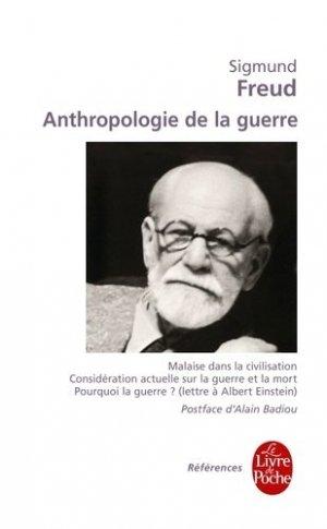 Anthropologie de la guerre - le livre de poche - lgf librairie generale francaise - 9782253156246 -