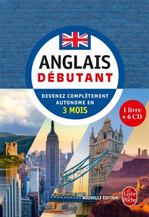 Anglais débutant - le livre de poche - lgf librairie generale francaise - 9782253184522 -