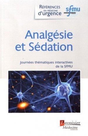Analgésie et Sédation - lavoisier msp - 9782257207111 -