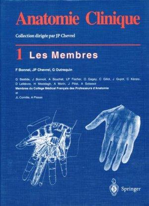 Anatomie clinique Tome 1 - springer - 9782287595363