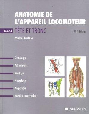 Anatomie de l'appareil locomoteur - elsevier / masson - 9782294080579 -