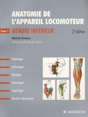 Anatomie de l'appareil locomoteur Pack 3 volumes - elsevier / masson - 9782294090417 -
