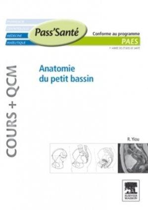 Anatomie du petit bassin - elsevier / masson - 9782294711695