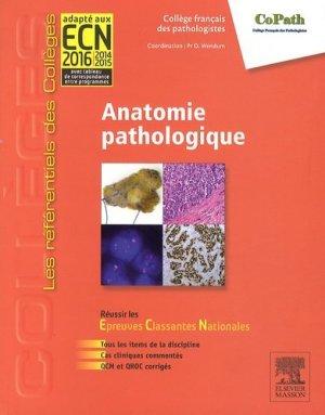Anatomie pathologique - elsevier / masson - 9782294715891 -