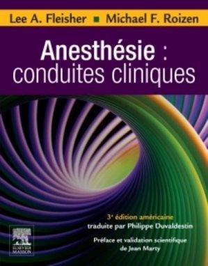 Anesthésie : conduites cliniques - elsevier / masson - 9782294730689