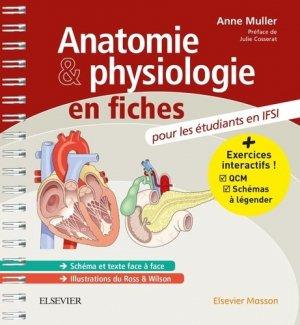 Anatomie et physiologie en fiches - elsevier / masson - 9782294748493