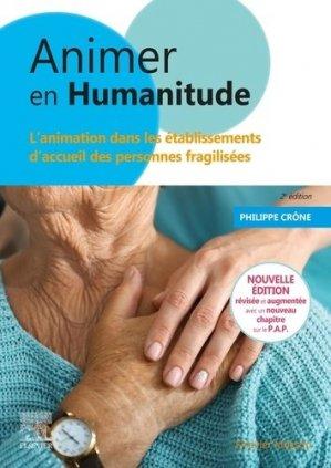 Animer en humanitude - elsevier / masson - 9782294771408 -