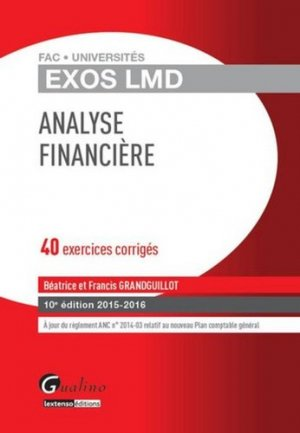 Analyse financière 2015-2016 - gualino - 9782297047227 -
