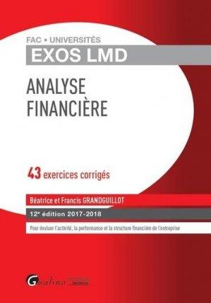Analyse financière - gualino - 9782297062411 -