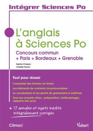 L'anglais à Sciences Po - Vuibert - 9782311402148 -