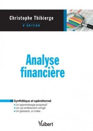 Analyse financière - Vuibert - 9782311403411 -