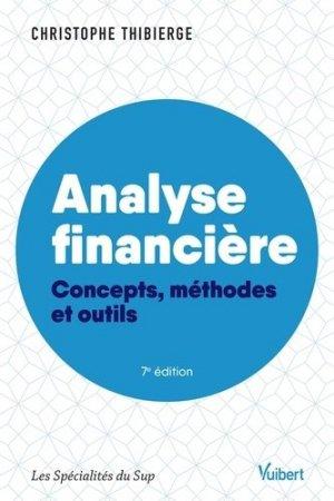 Analyse financière - Vuibert - 9782311408300 -