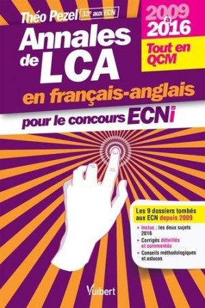 Annales de LCA en français-anglais pour le concours ECNi - vuibert - 9782311660357 -