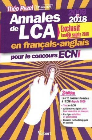 Annales de LCA en français-anglais pour le concours ECNi - vuibert - 9782311661125 -