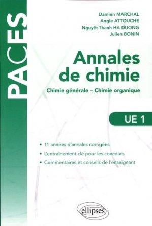 Annales de chimie - ellipses - 9782340002524 -