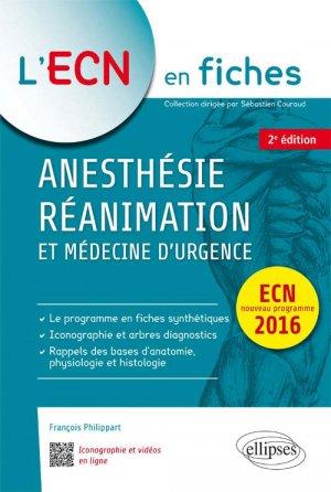 Anesthésie réanimation-ellipses-9782340016392