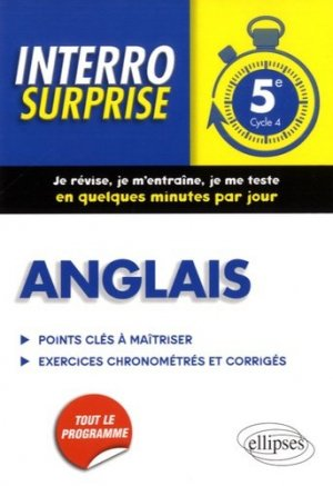 Anglais 5e - Ellipses - 9782340012813 -