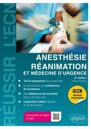 Anesthésie/réanimation et médecine d'urgence - ellipses - 9782340016408