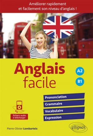 Anglais facile A2 B1 - ellipses - 9782340021808 -