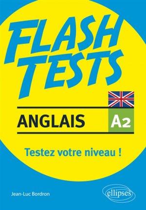 Flash Tests Anglais A2 - ellipses - 9782340029026 -