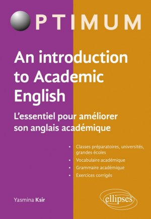 An Introduction to Academic English - ellipses - 9782340036147 -