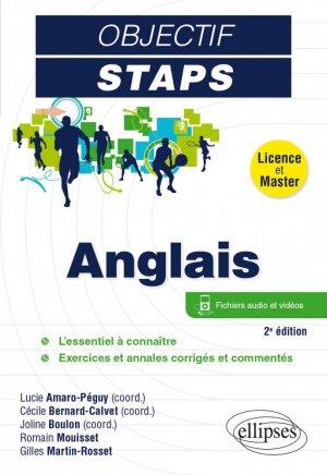 ANGLAIS (2E EDITION)    - ellipses  - 9782340056756 -