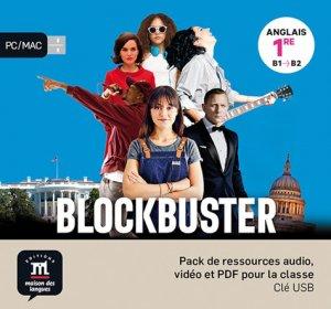 Anglais 1e Blockbuster - maison des langues - 9782356855510