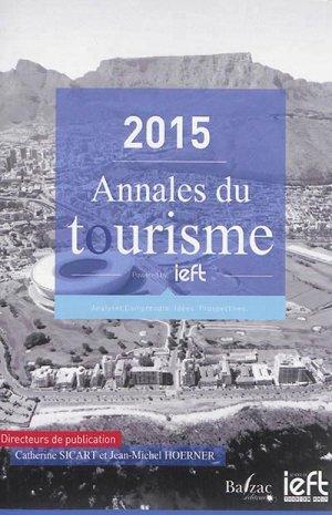 Annales du tourisme 2015 - balzac - 9782373200072