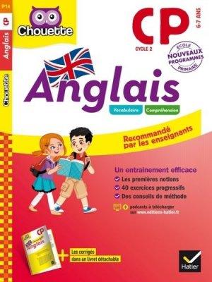 Anglais CP - Hatier - 9782401025769 -