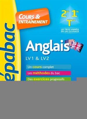 Anglais LV1 & LV2 1re 2de Tle - Hatier - 9782401047211 -