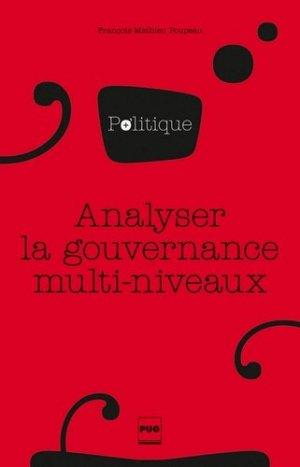 Analyser la gouvernance multi-niveaux - Presses Universitaires de Grenoble - 9782706126826 -