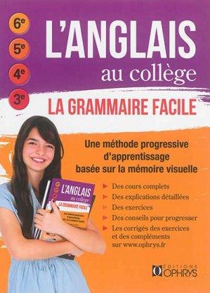 L'anglais au collège - ophrys - 9782708014268 -