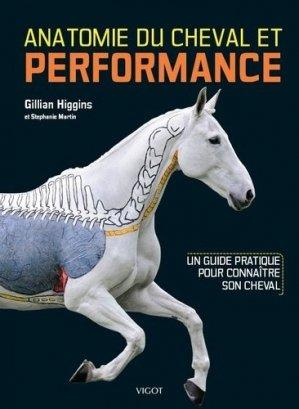 Anatomie du cheval et performance - Vigot - 9782711425921 -