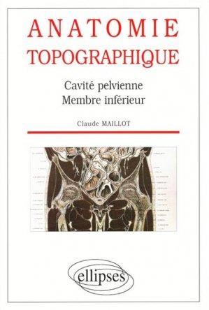 Anatomie topographique - ellipses - 9782729847449