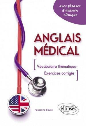 Anglais médical - ellipses - 9782729866822 -