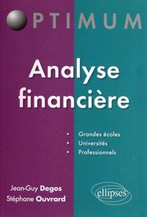 Analyse financière - Ellipses - 9782729873837 -