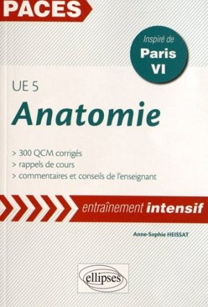 Anatomie UE 5 (Paris VI) - ellipses - 9782729875749 -