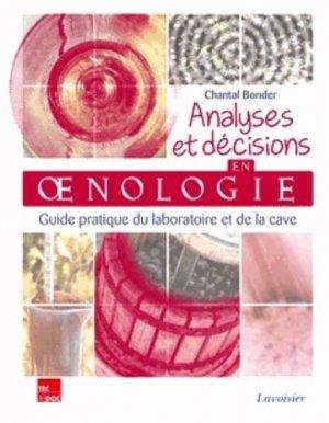 Analyses et décisions en oenologie - lavoisier / tec et doc - 9782743014407 -