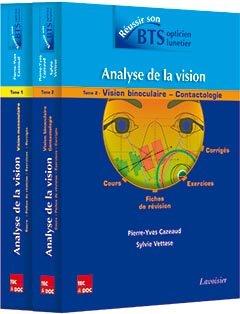 Analyse de la vision - 2 volumes - lavoisier / tec et doc - 9782743021849 -
