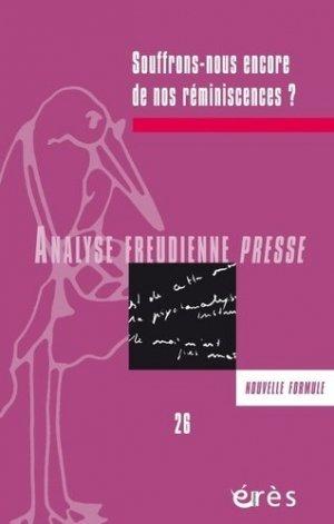 Analyse Freudienne Presse N° 26/2019 - eres - 9782749265285 -