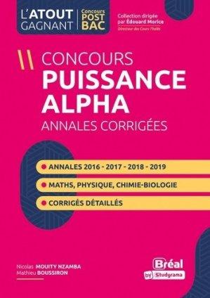 Annales du concours Puissance alpha - Bréal - 9782749550039 -