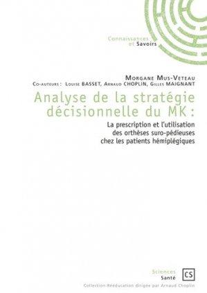 Analyse de la stratégie décisionnelle du MK - Connaissances et Savoirs - 9782753906365 -