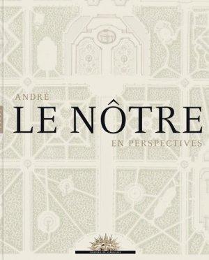 André Le Nôtre en perspectives - hazan - 9782754106931 -
