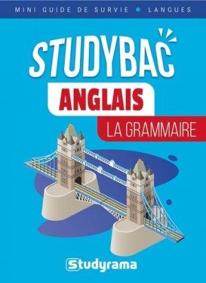 Anglais : La grammaire - Studyrama - 9782759045013 -