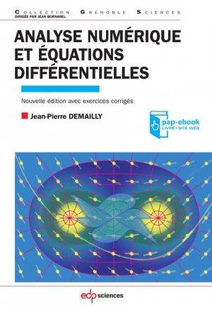 Analyse numérique et équations différentielles - edp sciences - 9782759819263 -