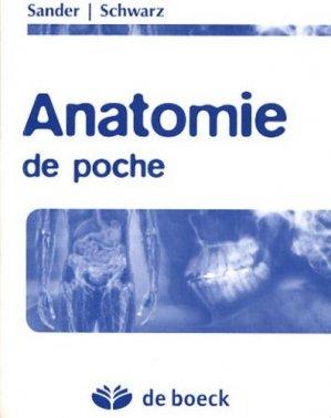 Anatomie de poche - de boeck superieur - 9782804153052 -