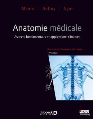 Anatomie médicale Aspects fondamentaux et applications cliniques - de boeck superieur - 9782804189952 -